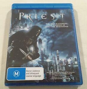 Priest (2011) - Blu-Ray Region Free | New | Paul Bettany | Karl Urban