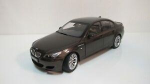 1:18 KYOSHO BMW M5 E60 BROWN SEDAN (FULL OPEN) DIECAST CARS