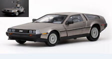 De Lorean DMC 12 Coupe' LK 1981 Stainless Steel Finish 1:18 Model 2701 SUN STAR