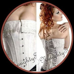 Corset- 100% Authentic Wedding Corset-NaughtySmileUSA, Size 24