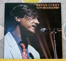 Bryan Ferry-Let 's stick together [vinyle LP, 1976] USA IMPORT SD 18187 Rock * EXC