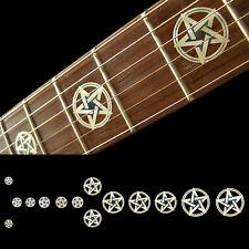 Fret Markers Neck Inlay Sticker Decal Guitar & Bass - Pentagram Kevin Bond