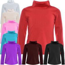 Langarm Mädchen-Tops, - T-Shirts & -Blusen aus Baumwollmischung ohne Muster