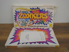 Waddingtons Games Vintage 1979 Zonkers Board Game Rare Complete