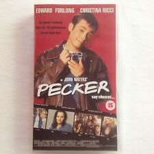 Pecker. VHS Video Tape Edward Furlong Christina Ricci Movie John Waters 1998