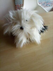 Keel Toys dulux Dog Soft Toy Old English Sheepdog 2011 with collar