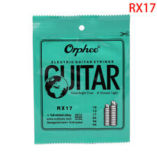 1Set Practiced Nickel Plated Steel Guitar Strings For Electric Guitar RX SerX NM