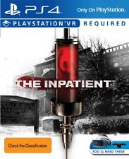 The Inpatient PSVR for VR Ps4 Sony PlayStation Original Aus Version