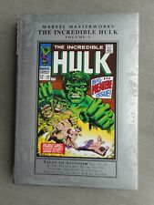 MARVEL MASTERWORKS: INCREDIBLE HULK VOL 3 VO EXCELLENT ETAT / NEAR MINT