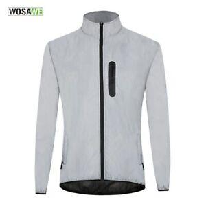 Cycling Clothing Waterproof Windproof Glow the dark Running Cycling Windbreaker