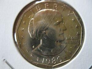 1980 S Susan B Anthony Dollar Gem BU
