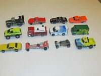 Lot 12 of Hot Wheels and Matchbox Die Cast Cars