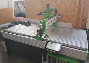 CNC Portal Fräsmaschine Fräse Portalfräse 2100x1000 mm / 2,10m x 1m 4-Achsen