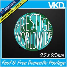 Prestige World Wide Sticker Decal - Drift Car 4x4 Fast Step Brothers JDM Vinyl !