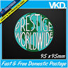 Prestige World Wide Sticker Decal - Drift Car 4x4 Fast Step Brothers JDM Vinyl !