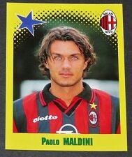 PAOLO MALDINI SAN SIRO AC MILAN ROSSONERI PANINI FOOT 98 FOOTBALL 1997-1998