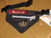 6938_Angeldog_Hundekleidung_Hundehalstuch_Hundehalsband mit Tuch_chihuahua_Xs