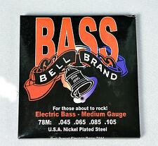 Bell Brand (M)  Bass Strings - Medium Gauge