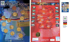 Medaillensammlung FIFA WM 2006 WM-Städte 12 Medaillen, NEU und Original-verpackt