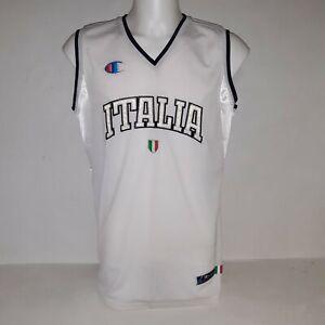 Canotta Jersey Italia Basket Italy Champion Maglia Nazionale Euro Italy size L