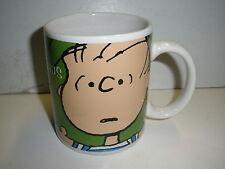 Peanuts Linus green mug Gibson  NICE