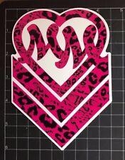 "Metal Mulisha Wild Girl 6"" inch Pink Sticker"
