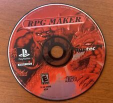 Sony PlayStation 1 PS1 Disc Only Tested RPG Maker Ships Fast