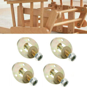 4pcs Rocking Chair Bearing Connecting Piece Furniture Connecting Fitting Kits