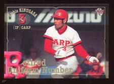 """2001 BBM Japanese Baseball Sachio Kinugasa """"Iron Man"""" HOF Hiroshima Carp"""