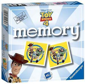 Ravensburger TOY STORY 4 MINI MEMORY GAME Toys Puzzles BNIP
