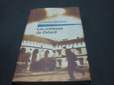 Libro Los Crimenes De Oxford - Gullermo Martinez