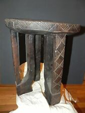 "Arts of Africa - Authentic Bamileke Stool - Cameroon - 19"" Height x 15"" Wide"