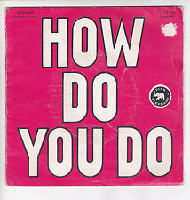 "TEK AND JOHN Vinyl 45 tours SP 7"" HOW DO YOU DO ? - PINK ELEPHANT  F Reduit RARE"