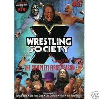 Wrestling Society X DVD wwe nxt roh pwg czw xpw ecw wsx njpw tna