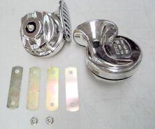Wholesale Blow Out LOUD CHROME Hi Low Street Rod Rat Rod Horn Set - factory 2nds
