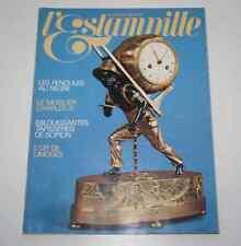 Revue d'art L'ESTAMPILLE 100 1978 Pendules au nègre Mobilier Charles X Scipion