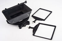 Chrosziel 440-01 Sun Shade Matte Box with 2 4x4 Filter Trays V14