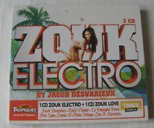 JACOB DESVARIEUX (2CD) ZOUK ELECTRO -  NEUF SOUS BLISTER