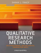(Very Good)-Qualitative Research Methods Collecting Evidence, Crafting Analysis,