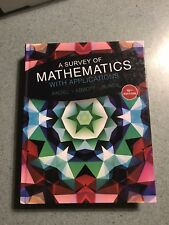 A Survey of Mathematics With Applications 10th Edition Great Condition