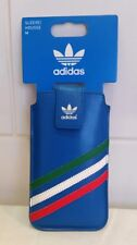 Adidas 3 stripe Smart Phone Case - Pouch - Medium - Blue 4/4s 5/5s, HTC ,Samsung
