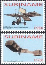 Suriname 2003 aerei/Aviazione/piani/Trasporto/Powered VOLO 2v Set (n36522)