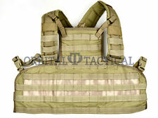 New Eagle Industries Rhodesian Recon Vest MOLLE Chest Rig SFLCS Khaki