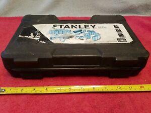 Stanley STMT71648 Metric & SAE 1/4 & 3/8 Socket Set 3/8 Ratchet 40 Pc W/Case