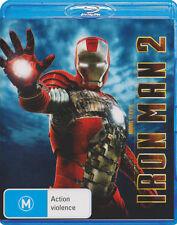 Iron Man 2 * Blu-ray Disc NEW * Robert Downey Jr Tony Stark Marvel War Machine