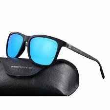 580a447ca Merry's Unissex Polarizado Óculos De Sol Vintage De Alumínio Para Homens/Mulheres  (Azul, 56)