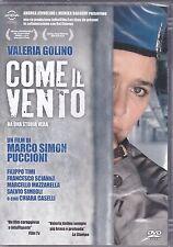 Dvd **COME IL VENTO** con Valeria Golino nuovo 2013