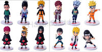Japan Anime Naruto Sasuke PVC Figure  Kids Toy Collection 6pcs/set