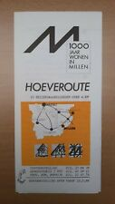 ► 1000 jaar wonen in MILLEN (RIEMST) - Hoeveroute (folder zonder datum)