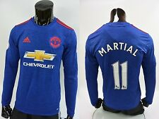 adidas Manchester United - Away LS Shirt Patch 2016-2017 MARTIAL 11 SIZE S mens
